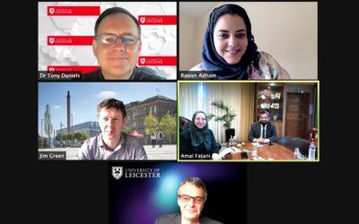 الملحقية الثقافية السعودية في المملكة المتحدة تلتقي بجامعة ليستر