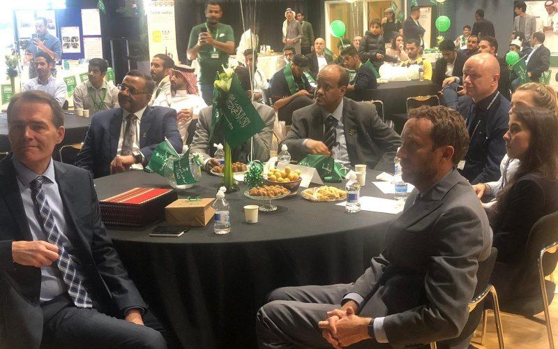 النادي السعودي في نيوكاسل يحتفل باليوم الوطني 89