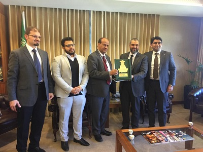 الدكتور الردادي يلتقى بوكيل جامعة الملك عبدالعزيز