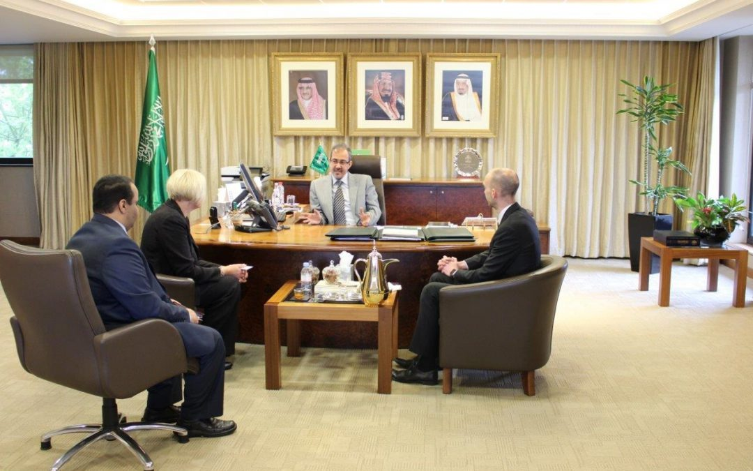 The Saudi Cultural Bureau commences meetings with British universities in order to develop academic and research partnerships